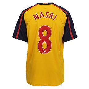 Nike Arsenal Nasri #8 Soccer Jersey (Away 2008/09)