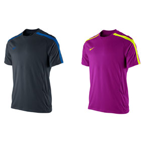 Nike Mens Soccer Training Jersey (Red Plum)