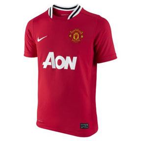 Nike Youth Manchester United Soccer Jersey (Home 2011/12)