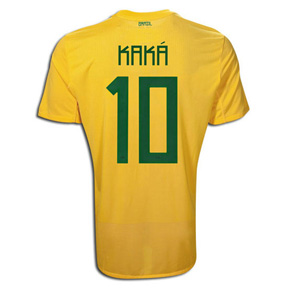 Nike Brasil / Brazil Kaka #10 Soccer Jersey (Home 2011/12)