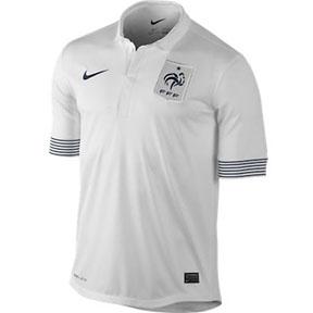 Nike France Soccer Jersey (Away 2012/13)