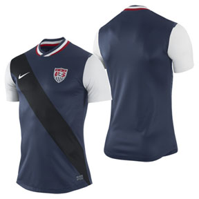 Nike  USA  Authentic Soccer Jersey (Away 2012/13)
