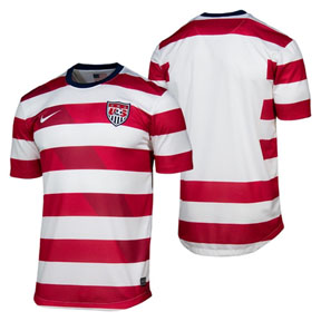 Nike  USA  Soccer  Jersey (Home 2012/13 - Customizable)