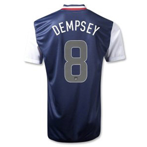 Nike  USA  Dempsey #8 Authentic Soccer Jersey (Away 2012/13)