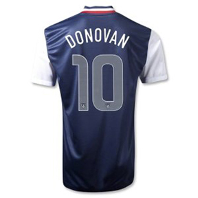 Nike  USA  Donovan #10 Authentic Soccer Jersey (Away 2012/13)