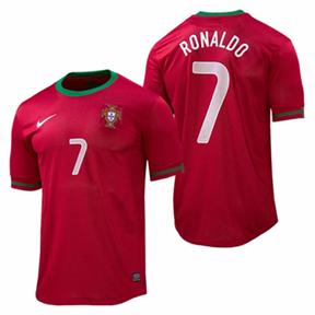 Nike Portugal Cristiano Ronaldo #7 Soccer Jersey (Home 12/13)
