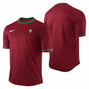 Nike Youth Portugal Soccer Jersey (Home 2012/13)
