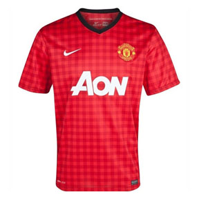 Nike Youth Manchester United Soccer Jersey (Home 2012/13)