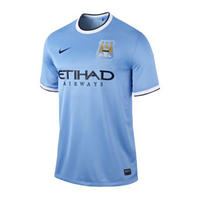 Nike Manchester City Soccer Jersey (Home 2013/14)