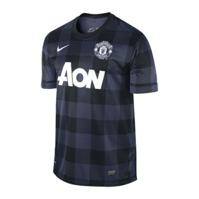 Nike Manchester United Soccer Jersey (Away 2013/14)