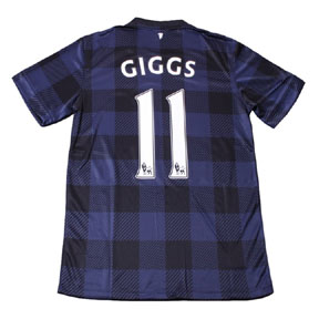 Nike Manchester United Giggs #11 Soccer Jersey (Away 2013/14)