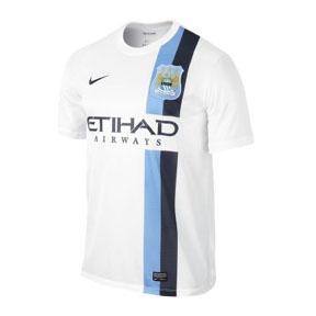 Nike Manchester City Soccer Jersey (Alternate 2013/14)