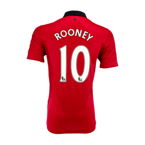 Nike Manchester United Rooney #10 Soccer Jersey (Home 2013/14)