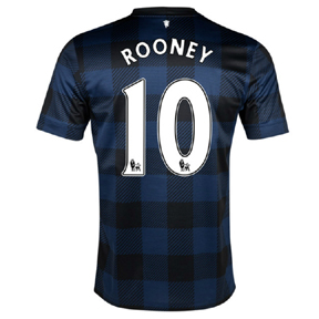 Nike Manchester United Rooney #10 Soccer Jersey (Away 13/14)