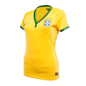 Nike Womens Brasil / Brazil Soccer Jersey (Home 2014/16)