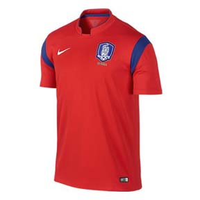 Nike South Korea Soccer Jersey (Home 2014/15)