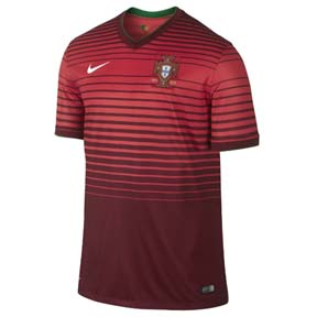 Nike Portugal Soccer Jersey (Home 2014/15)