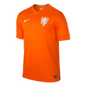 Nike Holland Soccer Jersey (Home 14/15)