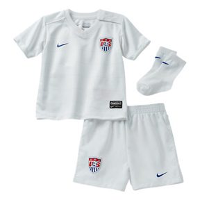 Nike USA Infant World Cup 2014 Soccer Jersey Mini Kit (Home)