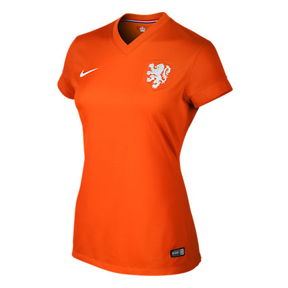 Nike Womens Holland Soccer Jersey (Home 2014/16)