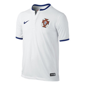Nike Youth Portugal World Cup 2014 Soccer Jersey (Away)