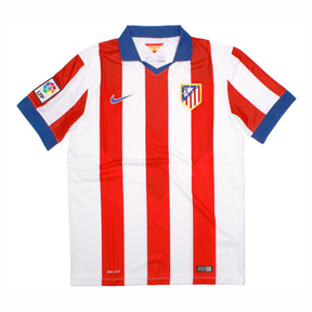 Nike Atletico Madrid Soccer Jersey (Home 2014/15)