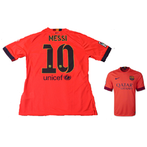 Nike Barcelona Lionel Messi #10 Jersey (Away 14/15)