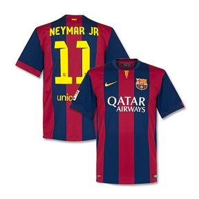 Nike   Barcelona Neymar #11 Soccer Jersey (Home 2014/15)
