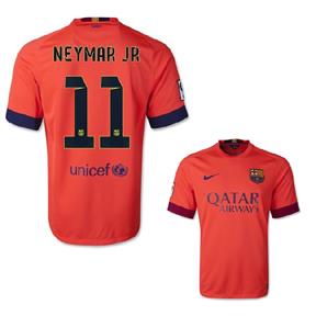 Nike Barcelona Neymar #11 Jersey (Away 14/15)