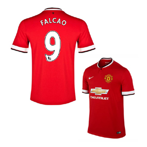 Nike Manchester United Falcao #9 Soccer Jersey (Home 2014/15)