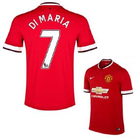 Nike Manchester United Di Maria #7 Soccer Jersey (Home 2014/15)