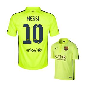 Nike  Barcelona  Messi  #10 Flash Flood Soccer Jersey (2014/15)