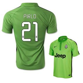 Nike  Juventus Pirlo #21 Flash Flood Soccer Jersey (Alternate 2014/15)