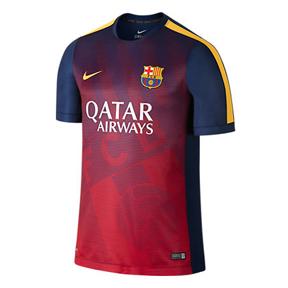 Nike Barcelona  Pre-Match 2 Soccer Training Jersey (2015/16)
