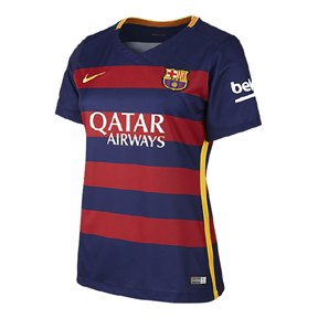 Nike   Womens Barcelona  Soccer Jersey (Home 2015/16)