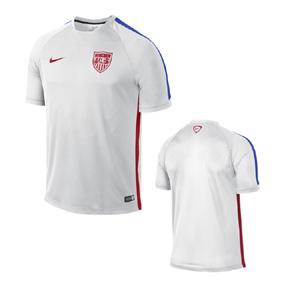 Nike USA Squad Soccer Training Jersey (White 2015/16)