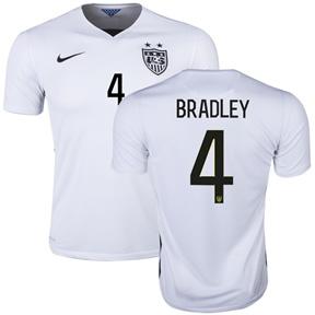 Nike USA Michael Bradley #4 Soccer Jersey (Home 2015/16)