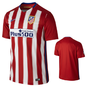 Nike Atletico Madrid Soccer Jersey (Home 2015/16)