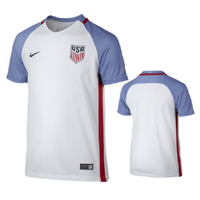 Nike Youth  USA  Soccer Jersey (Home 16/17)