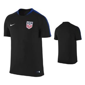 Nike  USA  USMNT Flash Soccer Training Jersey (Black 2016/17)