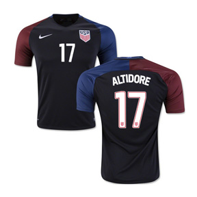 Nike  USA  Jozy Altidore #17 Soccer Jersey (Away 2016/17)