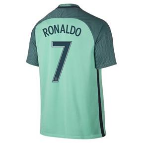 Nike  Portugal  Cristiano Ronaldo #7 Soccer Jersey (Away 2016/17)