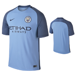 Nike  Manchester City  Soccer Jersey (Home 2016/17)