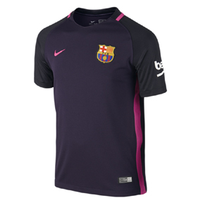 Nike Youth  Barcelona  Soccer Jersey (Away 16/17)