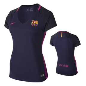 Nike Womens  Barcelona  Soccer Jersey (Away 16/17)