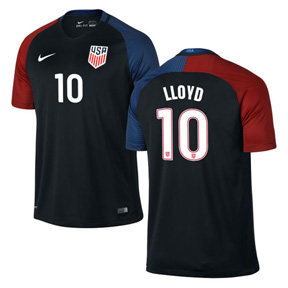 Nike Youth  USA  Carli Lloyd #10 Jersey (Away 16/17)