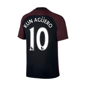Nike  Manchester City  Aguero #10 Soccer Jersey (Away 2016/17)