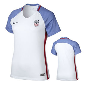 Nike Womens  USA  USWNT Player Cut Soccer Jersey (Home 16/17)