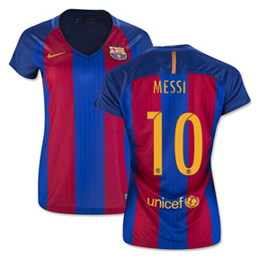 Nike Womens  Barcelona  Lionel Messi #10 Jersey (Home 16/17)