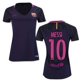Nike Womens  Barcelona  Lionel Messi #10 Jersey (Away 16/17)